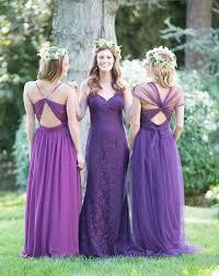 robe violette mariage robes demoiselle d honneur en violet pour mariage palettes