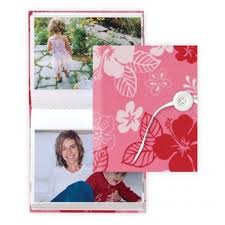 4x6 brag book power pink handcrafted 4x6 brag book