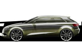future audi future audi a3 hatch and sedan previewed in official sketches