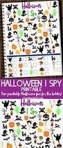 Free Printables For Halloween by Free Halloween I Spy Printable Kleinworth U0026 Co