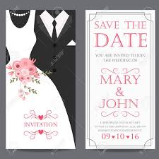 wedding card from groom to wedding invitation card and groom dress concept