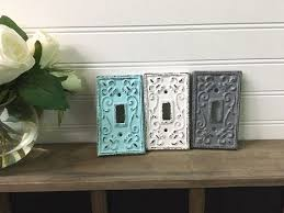 35 best shabby chic light switch and plug covers images on