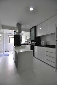 kitchen island in 3 rm hdb renovation ideas interior design