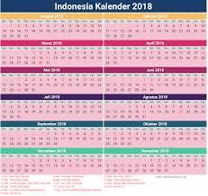 Kalender 2018 Hari Libur 2018 Calendar Indonesia Ma3sa