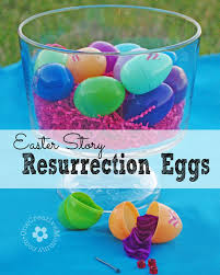 easter resurrection eggs easter story resurrection eggs onecreativemommy