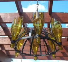 decor u0026 tips ceiling beams and wine bottle chandelier for outdoor