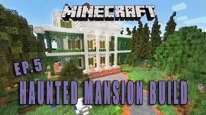 minecraft how to make a haunted mansion halloween build part 5