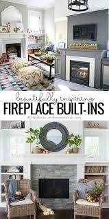 remodelaholic real life rooms decorating around a fireplace
