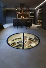 in floor wine cellar any connoisseur u0027s dream modern wine cellar designs