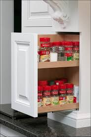 Wall Mount Spice Racks For Kitchen Dining Room Amazing Roll Out Drawers For Kitchen Cabinets Base
