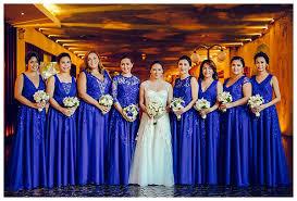 royal blue wedding royal blue cebu wedding philippines wedding