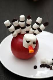 how to make a turkey out of a pine cone make an apple turkey activity education