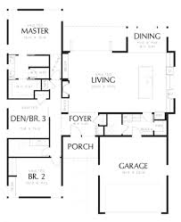 house square footage house plan 1700 square feet house plan with pooja room