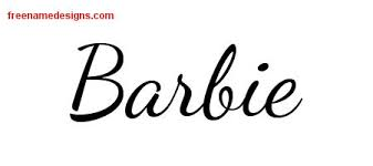 barbie archives free name designs
