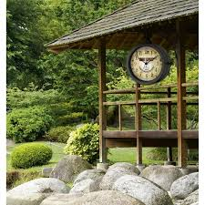 Garden Wall Clocks by Buy Outdoor Wall Clocks Online Free Shipping Oh Clocks Australia