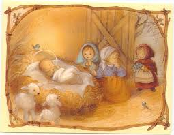 116 best nativity images on vintage cards