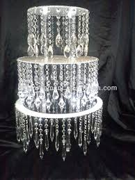 Buy Chandelier Crystals Where To Buy Chandelier With Acrylic Crystal Wedding Cake Stand