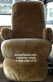 Chair Seat Cover Rv And Motorhome Sheepskin Seat Covers