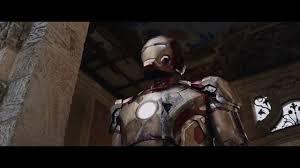 iron man 3 tony stark gets his suit back hd youtube