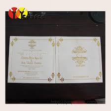Classic Name Card Design Latest Hindu Wedding Programs Card With Print Classic Laser Cut