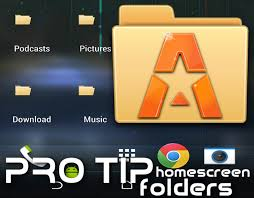 home screen icon design pro tip create home screen folders with astro file manager