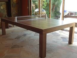 outdoor table tennis dining table ping pong table contemporary los angeles dailinger designs