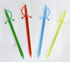 1000 cocktail sword swizzle sticks decoration bar party drink