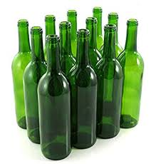 wine bottles green wine bottles 750 ml capacity pack of 12