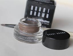 light brown gel eyeliner bobbi brown long wear gel eyeliner sepia ink review
