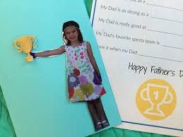 father u0027s day crafts kids can make for their sports fan dads