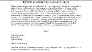 cover letter sample for bookkeeper bookkeeping engagement letter template the best letter sample