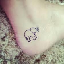30 adorable tiny elephant tattoo feedpuzzle