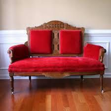 sofa red velvet couch velvet settee urban outfitters sofa