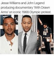 John Legend Meme - jesse williams and john legend producing documentary with drawn