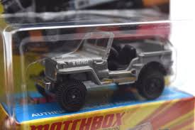 matchbox jeep willys 4x4 matchbox lesney edition jeep willys gray 5585 what u0027s it worth
