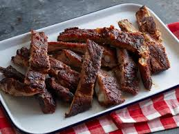How To Cook Pork Country Style Ribs In The Oven - kansas city style pork ribs recipe the neelys food network