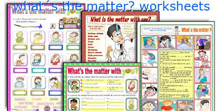 english teaching worksheets what s the matter
