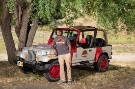 jurassic world jeep milpitas resident creates jurassic park jeep replica the mercury