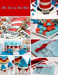 Cat In The Hat Party Decorations 40 Best Dr Suess Hat Meow Images On Pinterest Birthday Party