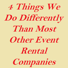 party rental companies event rental company serving pa md and de event central