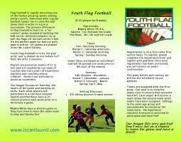 How To Start A Youth Flag Football League Youth Flag Football Registration