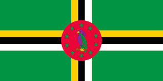 Flag Black Red Yellow Dominica Flags Of Countries