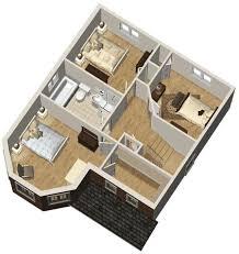 2 Storey House Design Plans 3d Homes Zone 2 Story House Plan 3d