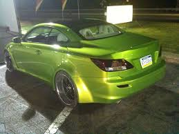 lexus nails houston texas lexus is350c green mean machine