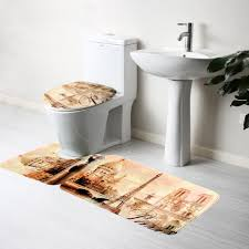Bathroom Rugs Set 3 Piece by Online Buy Wholesale Toilet Seat Mat From China Toilet Seat Mat