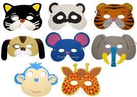 halloween clipart eye mask pencil 8 assorted foam animal masks amazon co uk toys u0026 games