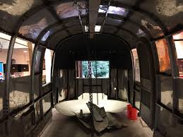 renovation underway for a 1965 airstream globetrotter travelin