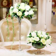 Big Glass Vases For Centerpieces by Online Get Cheap Large Glass Centerpieces Aliexpress Com