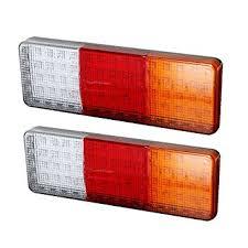 led trailer tail lights amazon com led trailer tail lights bar dc24v 75 led waterproof turn