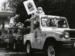 crashed white jeep 9 things you never knew about the ewok adventure starwars com